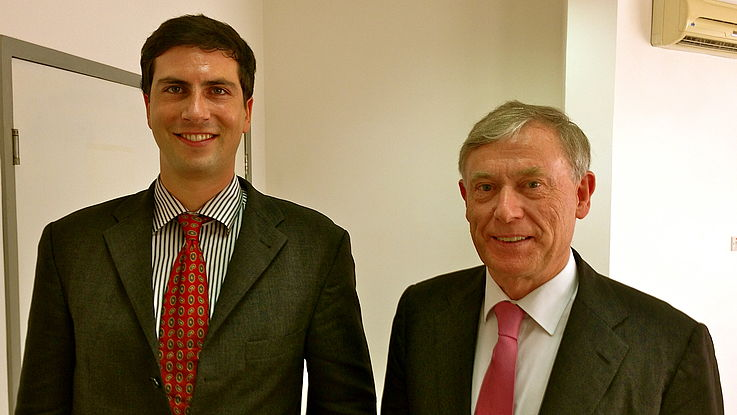 Discussions with Prof. Dr. Horst Köhler, Former President of Germany