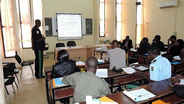 Formation des Assistants de Police en Police Citoyenne