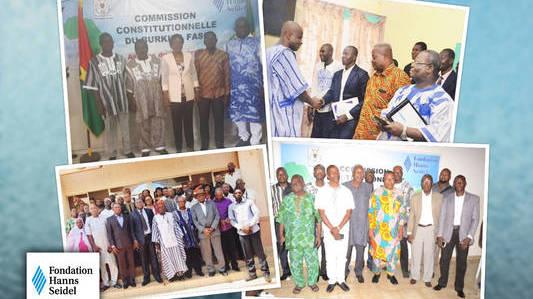 Présentation de l'avant-projet de la nouvelle constitution aux Burkinabés de l'étranger